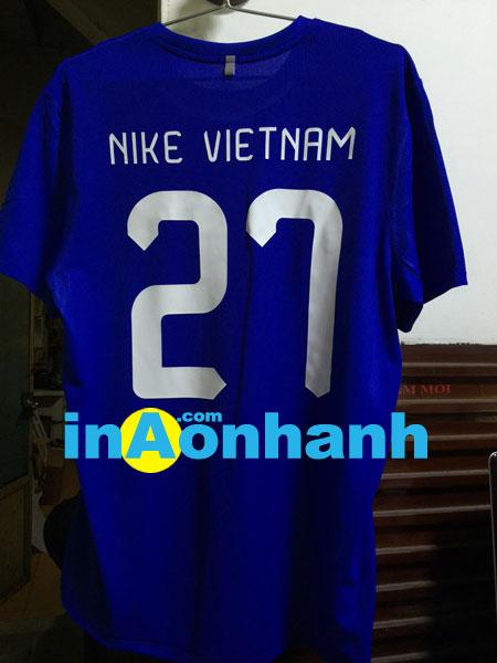 in áo đá banh - khách hàng: Nike Vietnam