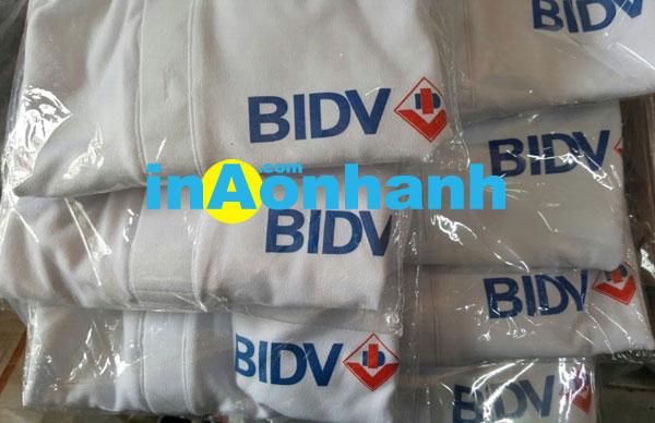 in áo thun cho ngân hàng BIDV