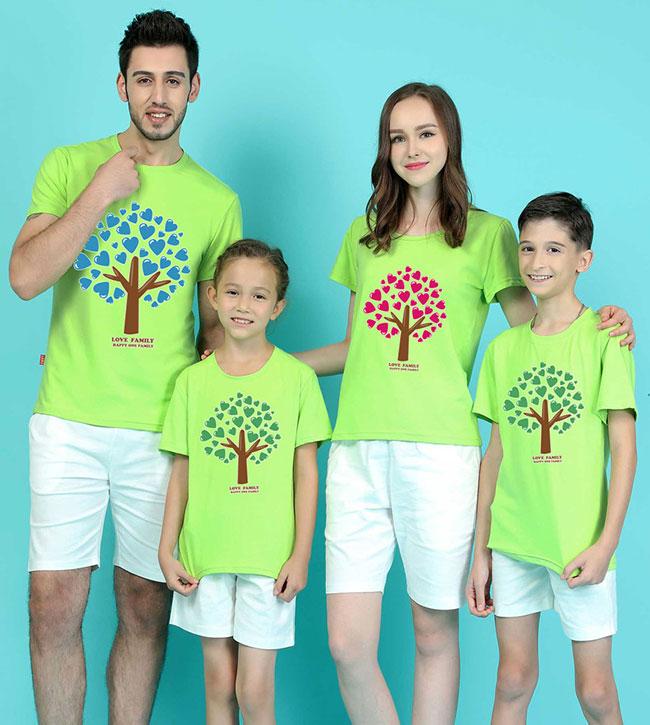 áo in gia đình