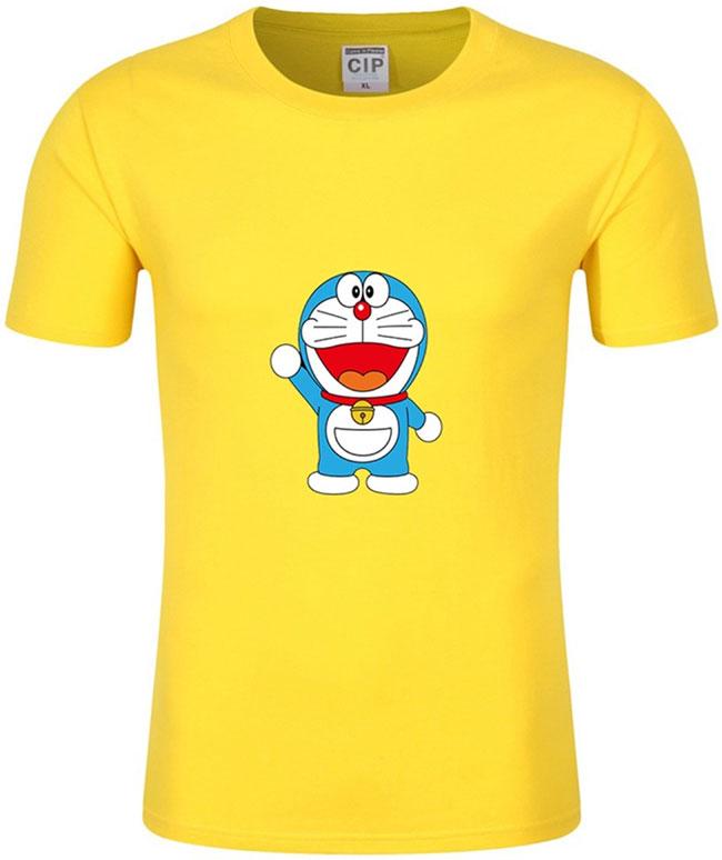 áo in hình nhân vật Doraemon