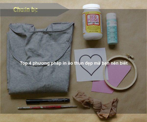 Top 4 phương pháp in áo thun đẹp mà bạn nên biết