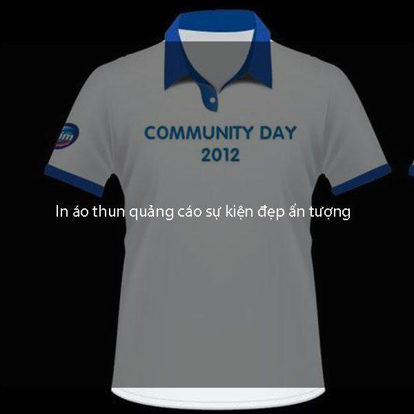 In áo thun quảng cáo sự kiện đẹp ấn tượng