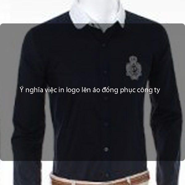 Ý nghĩa việc in logo lên áo đồng phục công ty