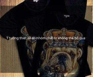 Ý tưởng thiết kế áo nhóm chất lừ không thể bỏ qua